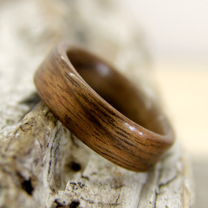Classic Walnut Bentwood Ring – Special Price