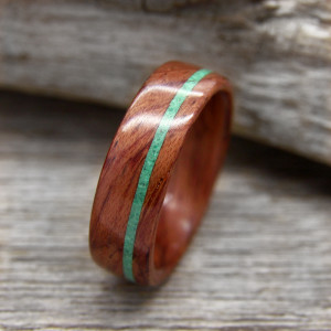 Inlaid Bentwood Rings