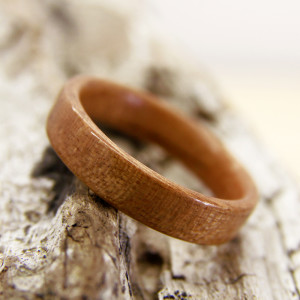 Classic Cherry Bentwood Ring