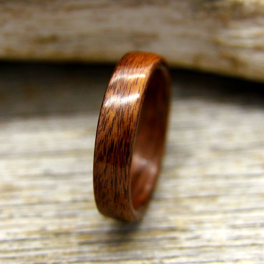 Santos Rosewood Bentwood Ring by Stout Woodworks