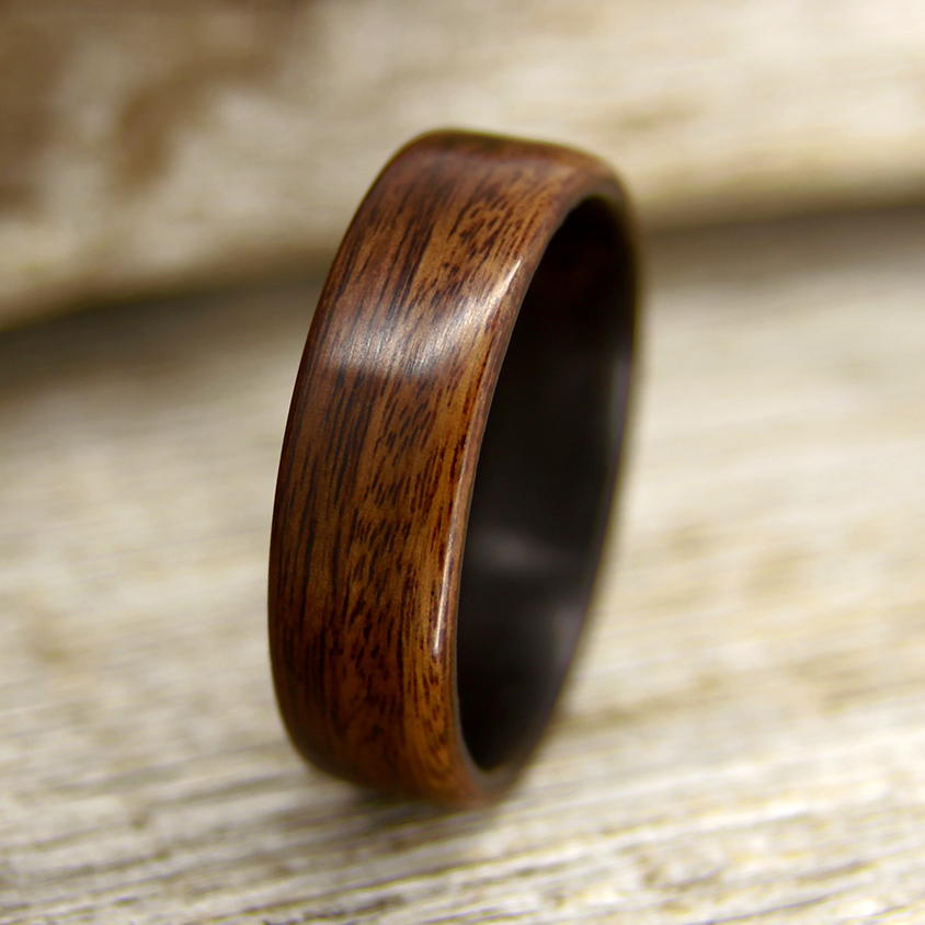 unique rings bolivian rosewood stock of new wedding custom ring wood
